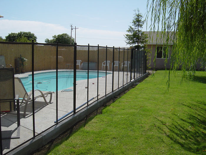 Mesh pool fence gallery childguard diy removable