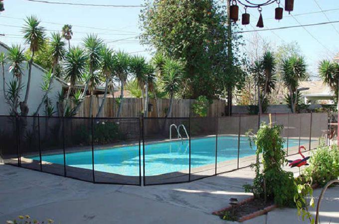 Childguard mesh removable diy pool fence