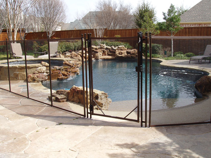 Childguard Mesh Removable Diy Pool Fence