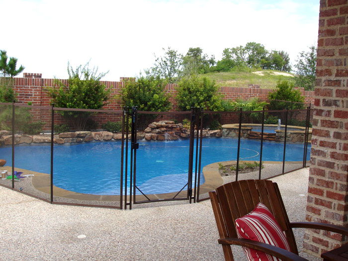 Mesh Pool Fence Gallery Childguard Diy Removable Pool