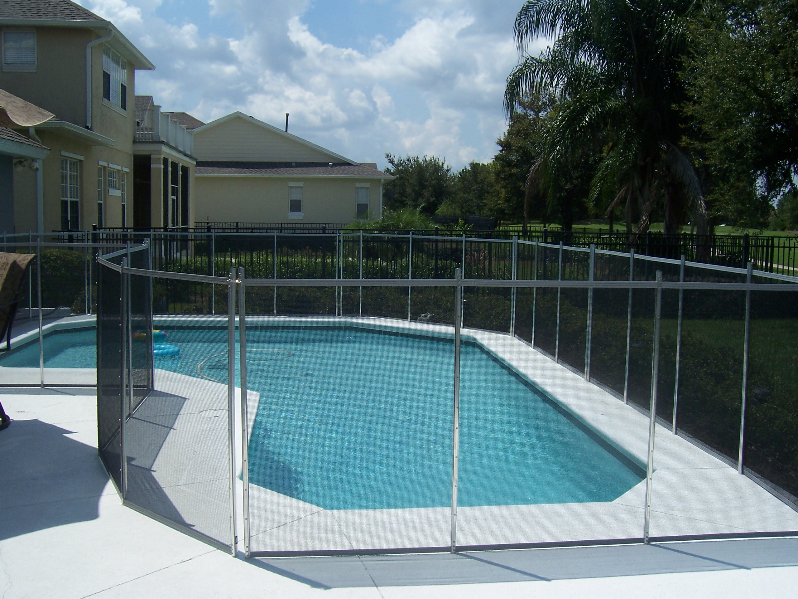 All about in ground pool safety fences childguard pool for In ground pool fence ideas