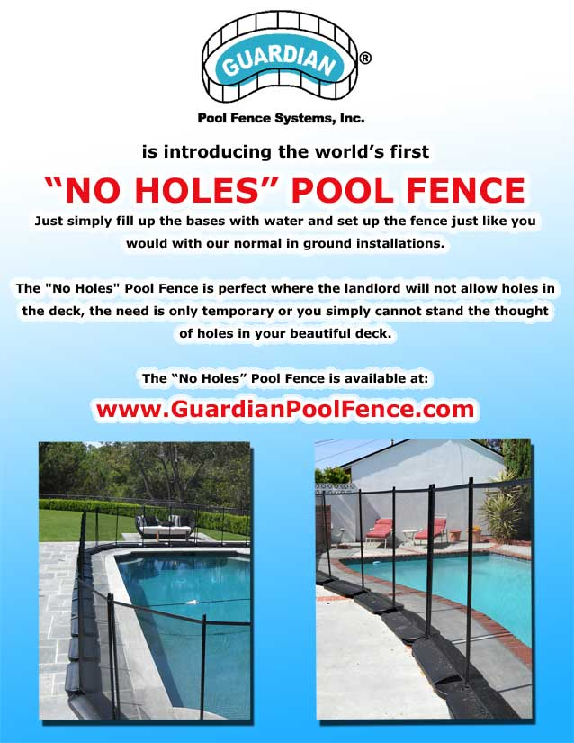 Portable Pool Safety Fence Childguard Diy Pool Fence