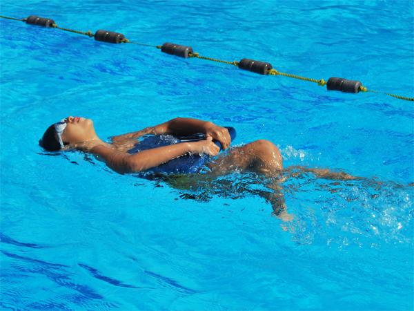 low impact swimming
